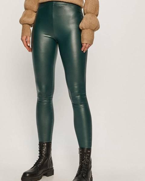 Zelené kalhoty jacqueline de yong
