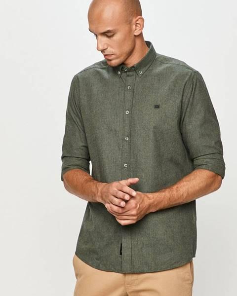 Zelená košile cross jeans