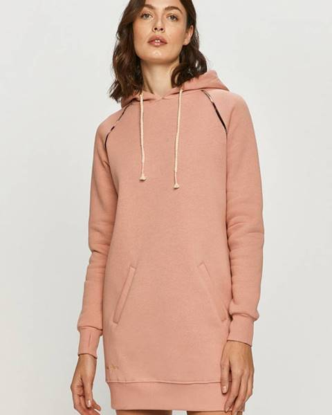 Růžové šaty femi stories