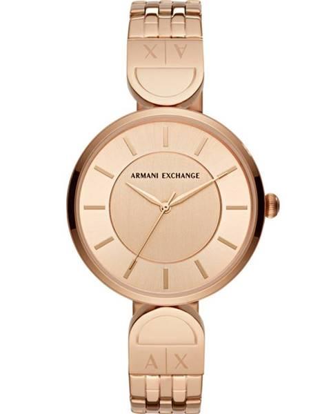 Zlaté hodinky Armani Exchange