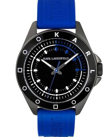 Modré hodinky karl lagerfeld