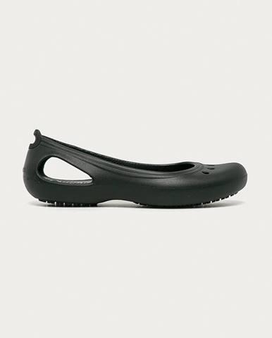 Černé baleríny crocs