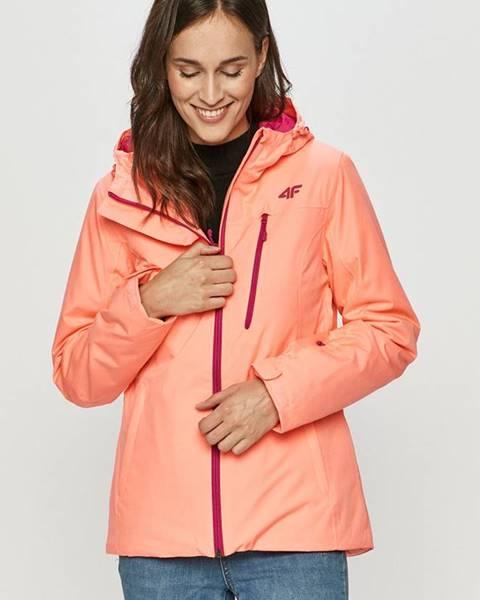 Oranžová bunda 4F