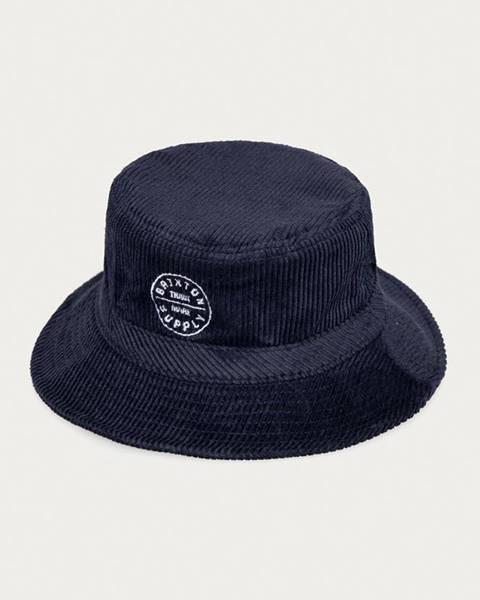 Modrá čepice Brixton