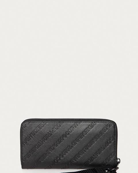 Černá peněženka Diesel