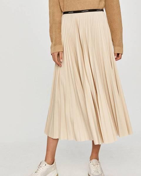 Béžová sukně lacoste