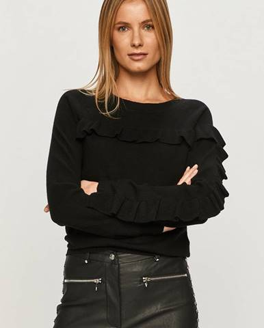 Černý svetr Silvian Heach