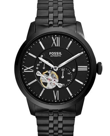 Černé hodinky Fossil