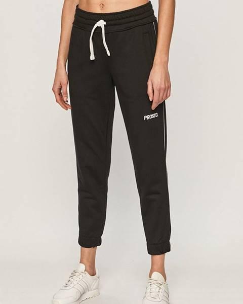 Černé kalhoty Prosto