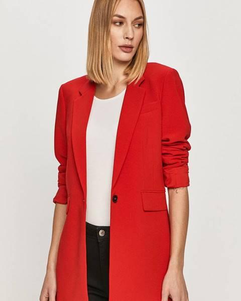 Červené sako tommy hilfiger