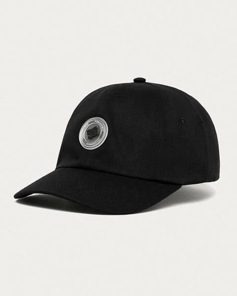 Černá čepice DC