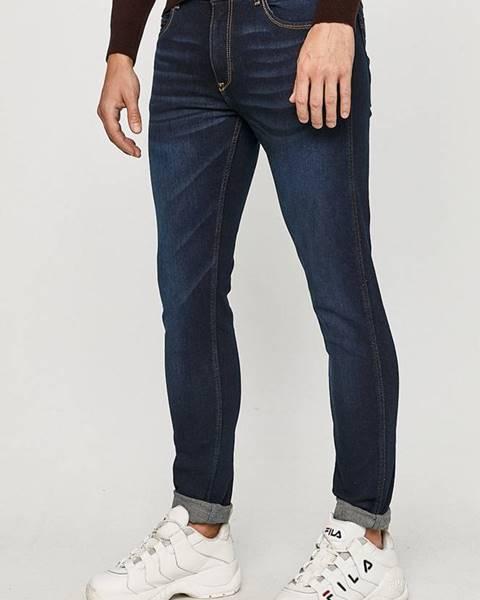 Modré kalhoty cross jeans