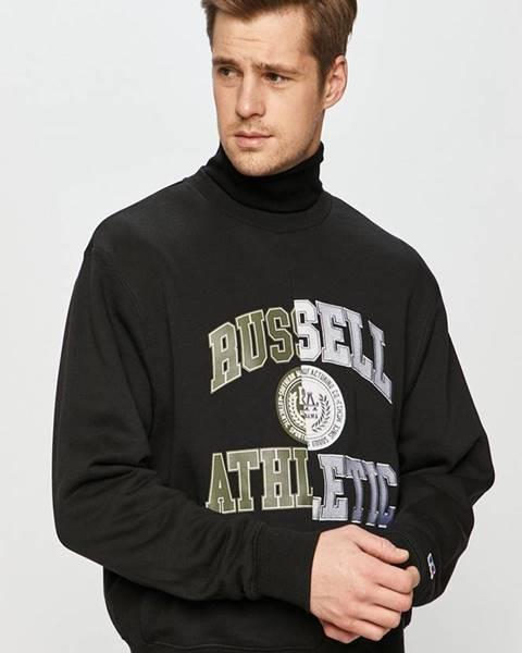 Černá mikina Russell Athletic