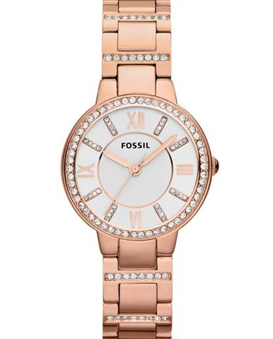 Růžové hodinky Fossil