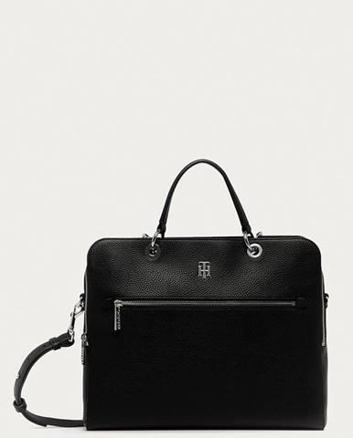 Černý kufr tommy hilfiger