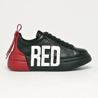 Red Valentino - Kožené boty
