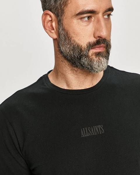 Černé tričko AllSaints