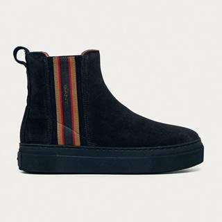 Gant - Semišové kotníkové boty Vanna
