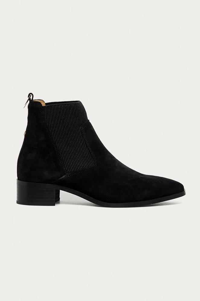 gant Gant - Semišové kotníkové boty Isla