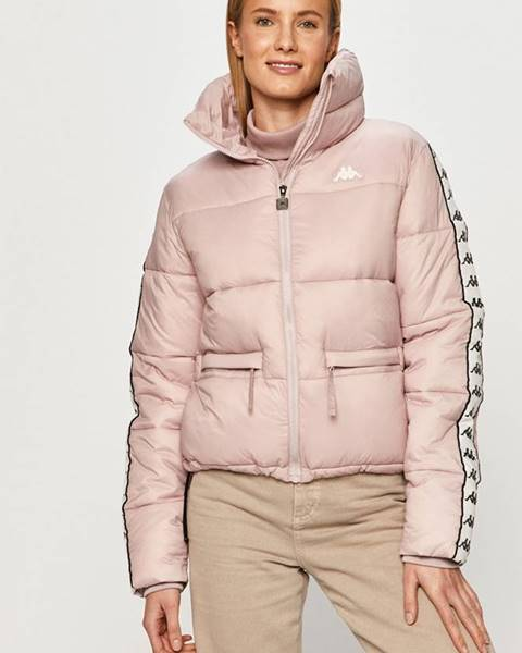 Růžová bunda Kappa