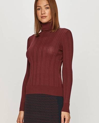 Burgundský svetr tommy hilfiger