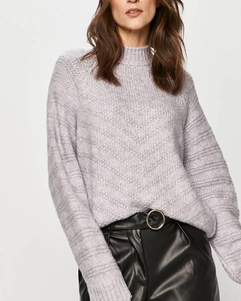 Fialový svetr Answear Lab