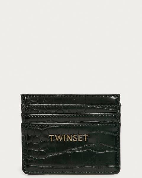Černá peněženka TWINSET