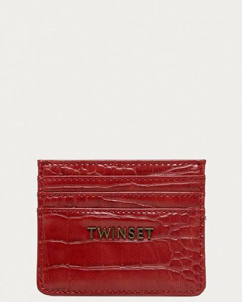 Červená peněženka TWINSET