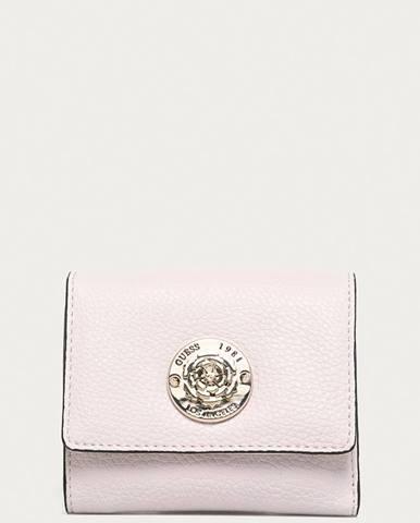 Růžová peněženka Guess
