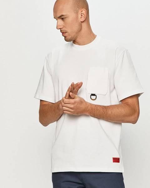 Bílé tričko Caterpillar