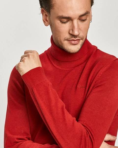Červený svetr s.oliver
