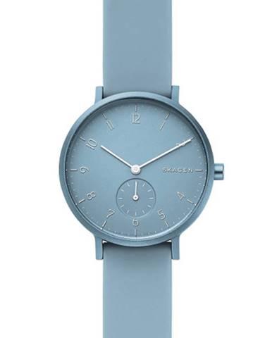Modré hodinky Skagen