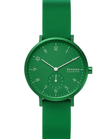 Zelené hodinky Skagen