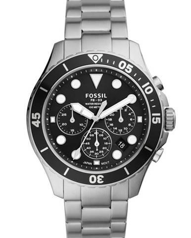 Stříbrné hodinky Fossil