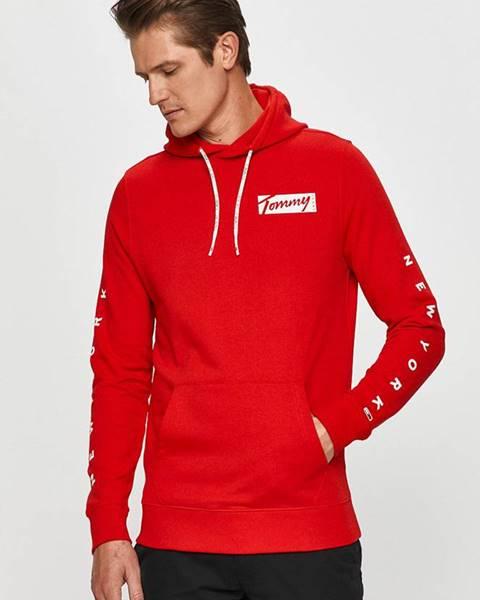 Červená mikina Tommy Jeans