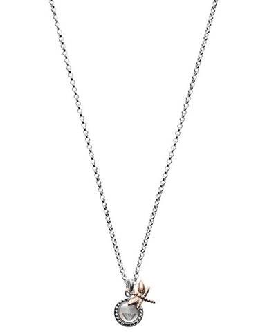 Stříbrný náhrdelník Emporio Armani