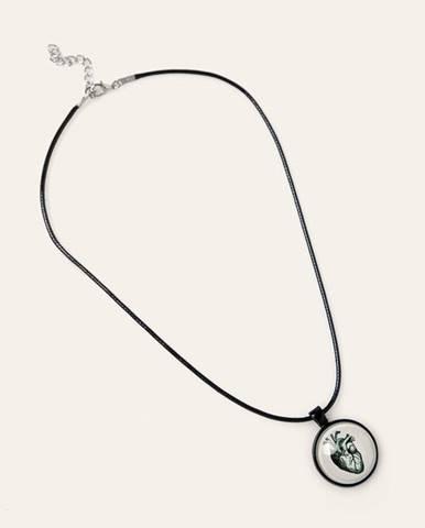 Černý náhrdelník MEDICINE
