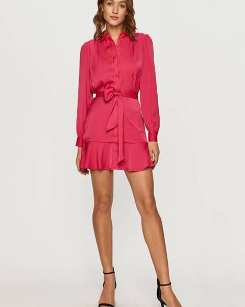Růžové šaty Guess