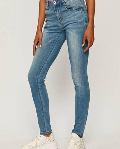 Modré kalhoty Miss Sixty