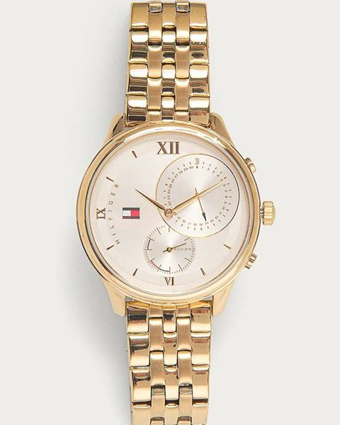 Zlaté hodinky tommy hilfiger