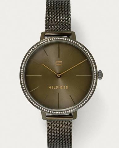 Zelené hodinky tommy hilfiger
