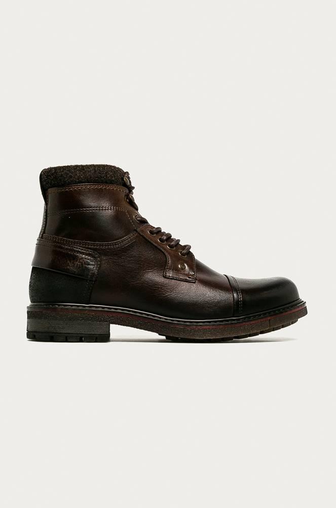 aldo Aldo - Kožené boty Legelicien