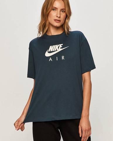 Modrý top Nike Sportswear