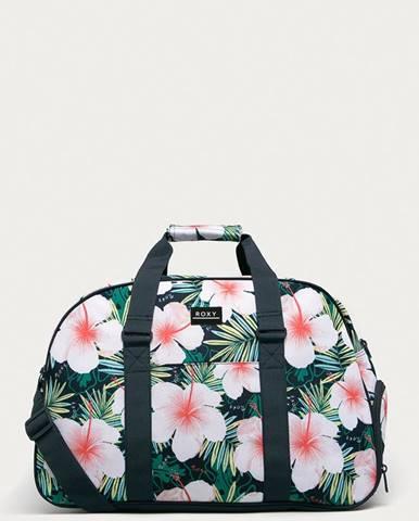 Zelený kufr roxy