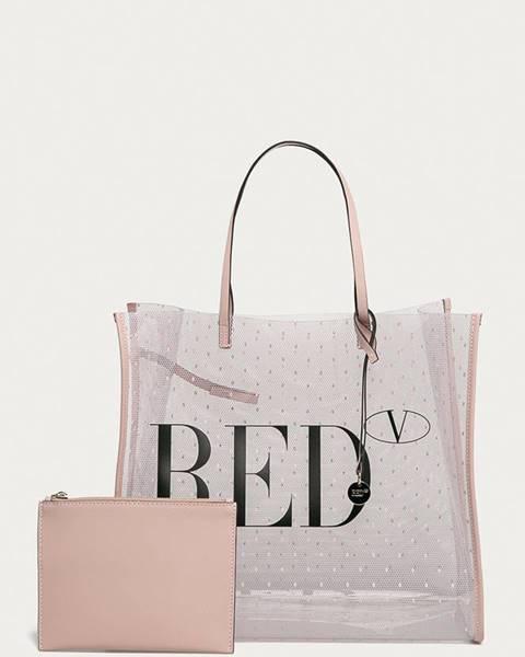 Růžová kabelka Red Valentino