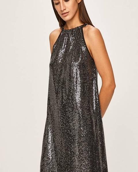 Stříbrné šaty ANSWEAR