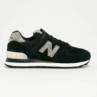 New Balance - Kožené boty WL574ANC