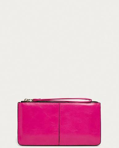 Růžová peněženka ANSWEAR