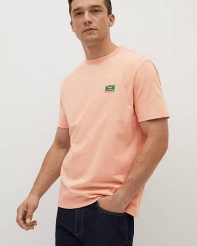 Oranžové tričko Mango Man