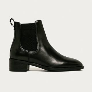 Gant - Kožené kotníkové boty Dellar